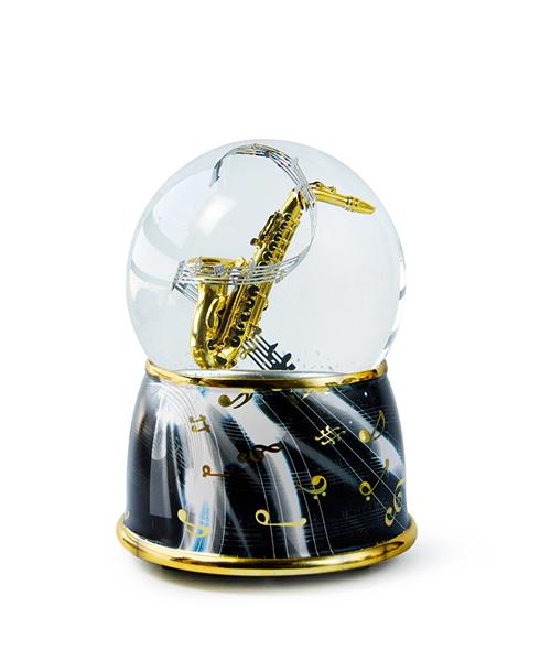萨克斯水晶球音乐盒